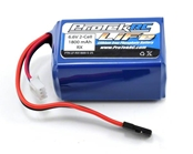 ProTek RC - R/c Life Hump Receiver Battery Pack (6.6v / 1800mah W / Balancer Plug)