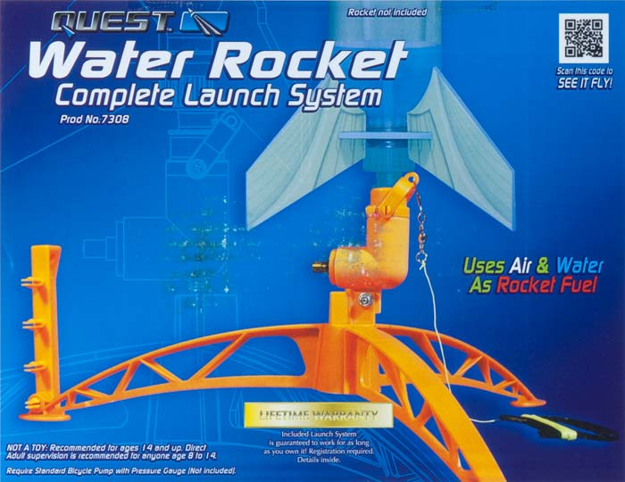 7308 Water Rocket Complete Launch System