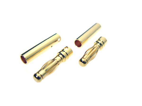 4MM Bullet Plugs 2 pair