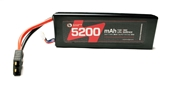 High Proformance Lipo Battery Pack5000MAH 25C 2S 7.4V With Hardwired Traxxas Plug