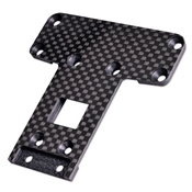 Carbon Fiber Rear Chassis Plate (Ball Diff) Pro2 SC
