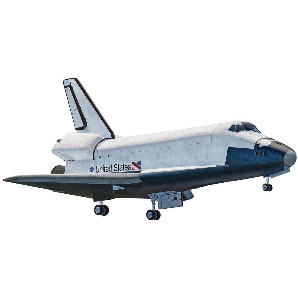 851393 1/250 Space Shuttle SnapTite