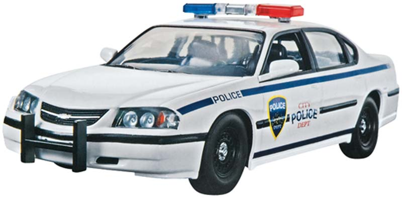Revell 1/25 Snap 05 Chevy Impala Police Car
