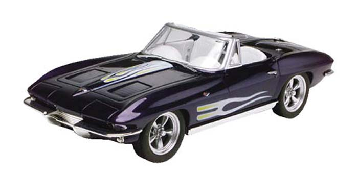 Revell 1/25 Easy Kit 63 Corvette Convertible