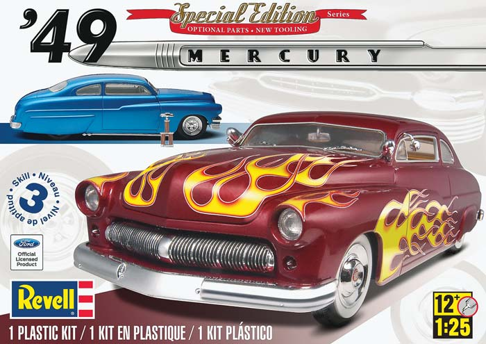 Revell 1/25 1949 Mercury Custom Coupe 2 n 1