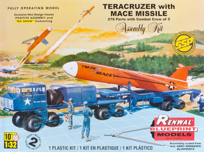 RMX Renwal 1/32 Teracruzer With Mace Missile