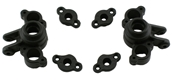 Black Axle Carriers for Traxxas 1/16th REVO/SLH/SUMMIT/RALLY