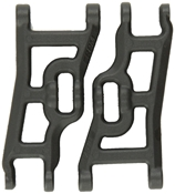 Heavy Duty Front A-Arms - BlackFits The E-Stampede, E-Rustler, Slash 2WD & Nitro Slash