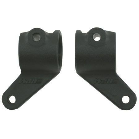 RPM Front Bearing Carriers, Black: RU, ST, BA, SLH