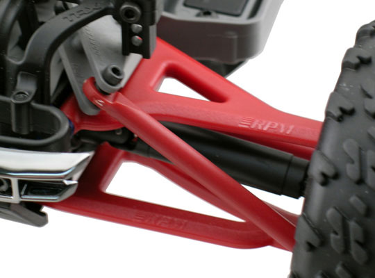 FRONT U& L (RED) ARMS : 1/16 E-REVO - RPM80699