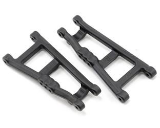 RPM Rear A-Arms Black Electric Rustler/Stampede (2)