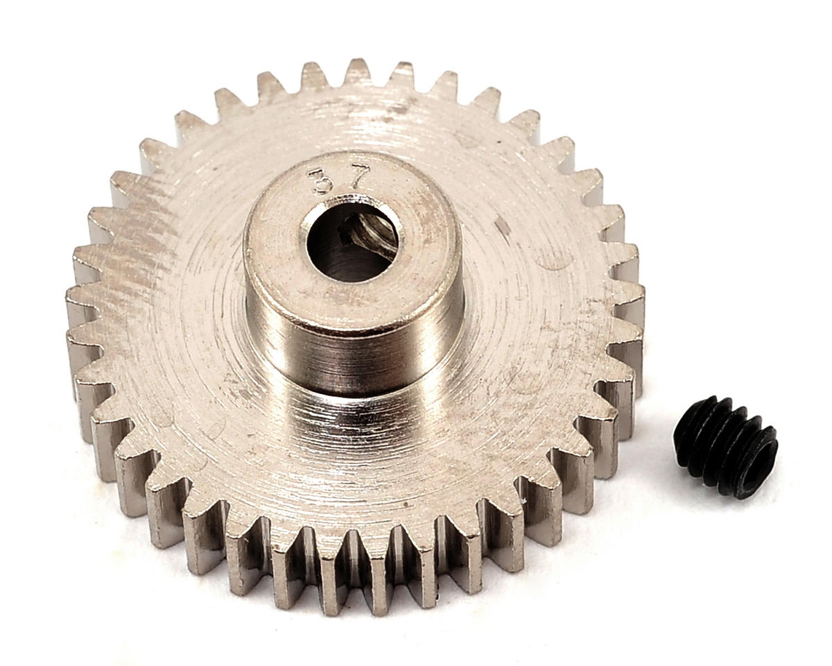 Nickel-Plated 48-Pitch Pinion Gear, 37T