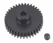 Robinson Racing Products 48 Pitch Hard Coated Aluminum Pinion Gear, 37T