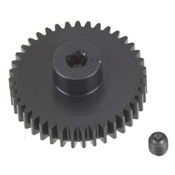 Robinson Racing Products 48 Pitch Hard Coated Aluminum Pinion Gear, 39T