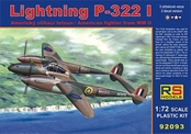 RS Models 1/72 Lightning P322 US WWII Fighter 92093