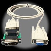 15-pin to RS232 Cable