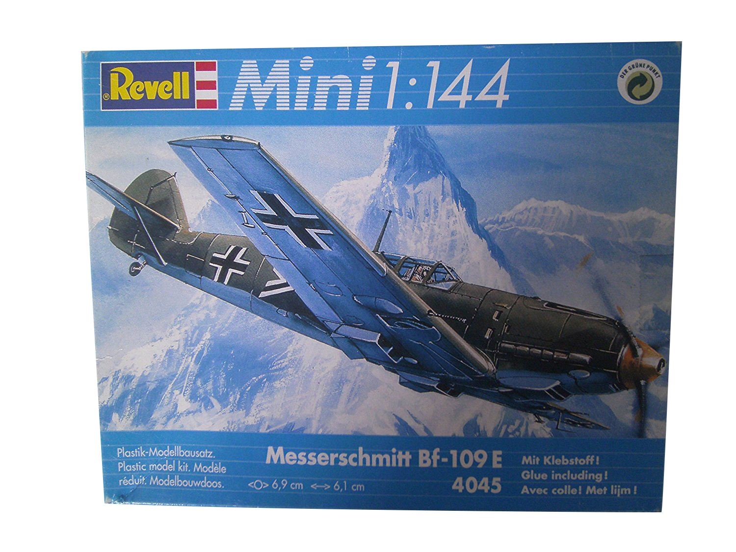 Messerschmitt Bf-109E (Mini 1/144 Scale)