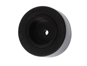 1-1/4in. Rubber Wheel Assembly