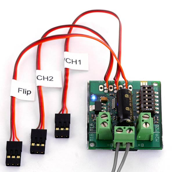 Sabertooth 2 x 5 RC Dual Motor Speed Controller