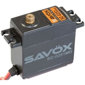Savox SC-0251MG Larger Standard Servo