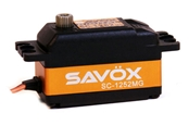 Savox SC-1252MG Low Profile Super Speed Metal Gear Digital Servo