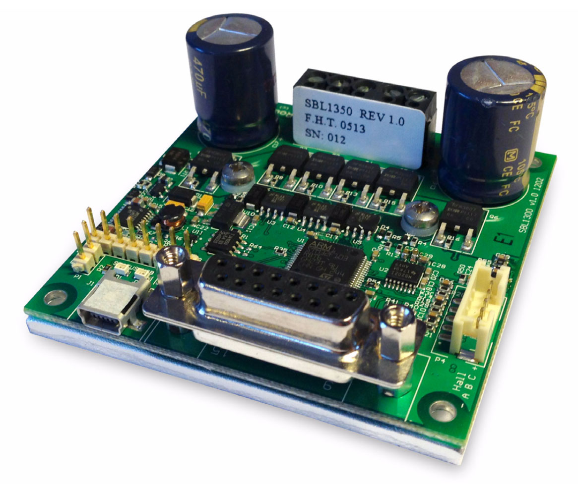 RoboteQ SBL1330 Single Channel, 30A, 30V Brushless Motor Controller