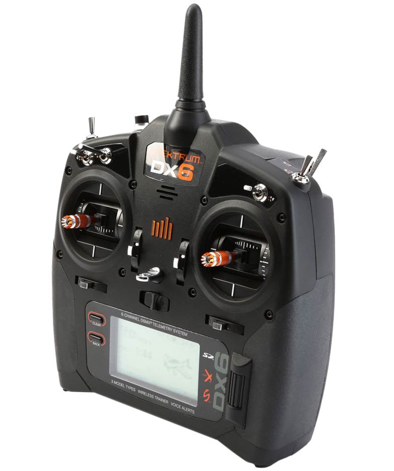 Spektrum DX6 6-channel 2.4GHz DSMX Radio Transmitter Only