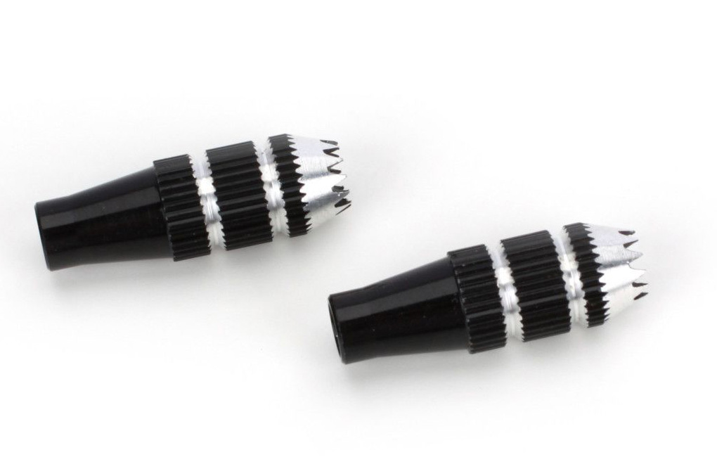 Stick Ends, 24mm BLK: DX8, DX6i, DX7S, DX18QQ, DX9