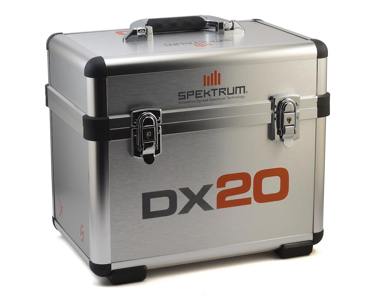 Spektrum RC Dual Stand Up Transmitter Case - DX20