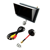 4.3 Inch FPV Video Monitor with Sunshade and Mount