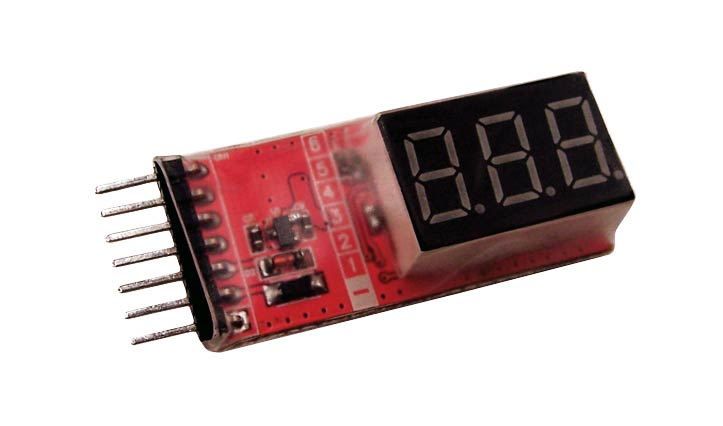 Cell Spy Platinum LiPo Voltage Tester