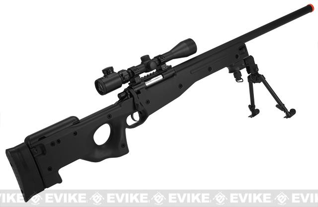 New Version AGM APS2 Type96 Airsoft Sniper Rifle - Black