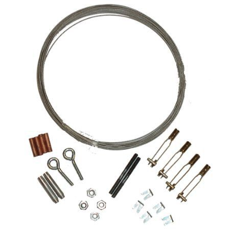 Pull Cable Kit w/Turnbuckles,15'
