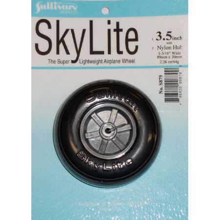Skylite Wheel w/Tread,3-1/2