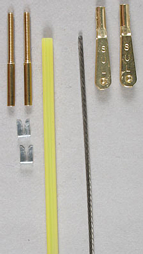515 Semi-Flex Push Cable .063 w/Gold'N Clevis 36 inch