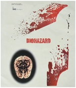SpazStix Biohazard Decal Sheet