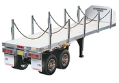 1/14 Semi Flatbed Trailer Kit - Tamiya 56306