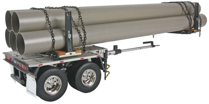 1/14 Semi Pole Trailer Kit - Tamiya 56310