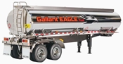 Fuel Tank Trailer: 1/14 Semi Truck