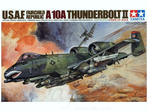 1/48 Republic A-10 Thunderbolt II by Tamiya America, Inc - TAM61028