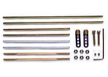 3mm Assorted Shaft Set - Tamiya 70105