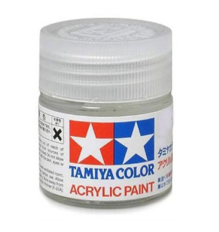 Acrylic X21 Flat Base by Tamiya America, Inc
