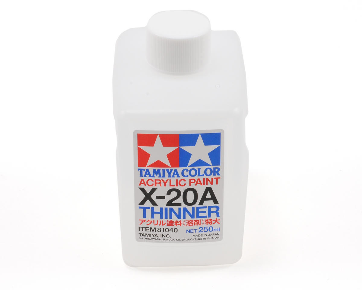 Tamiya Acrylic/Poly Thinner X-20A 250ml