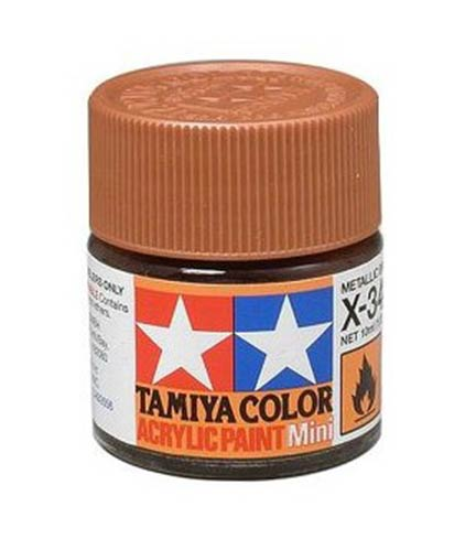 Tamiya Acrylic X-34 Metallic Brown