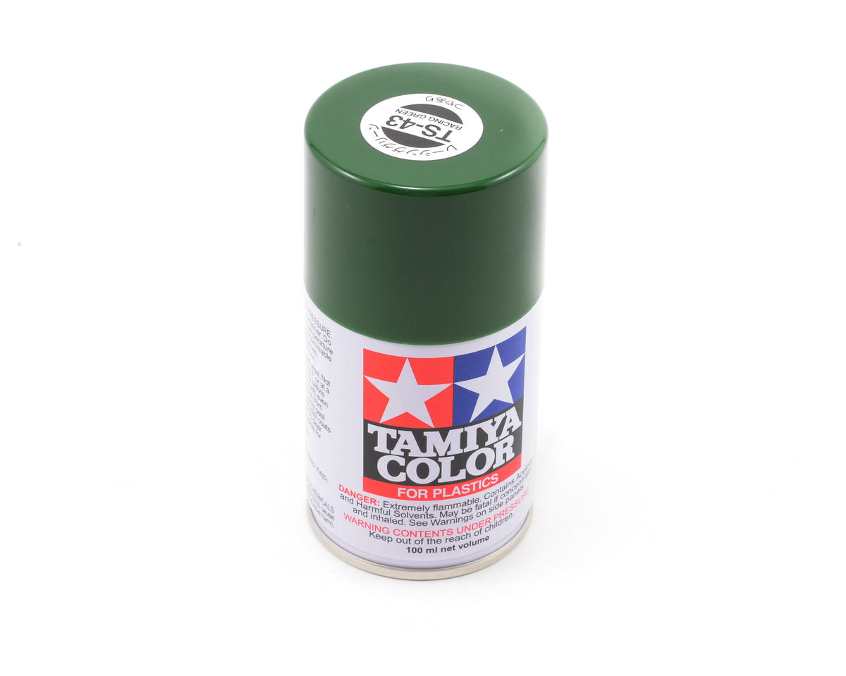 Spray Lacquer TS-43 Racing Green  by Tamiya America, Inc