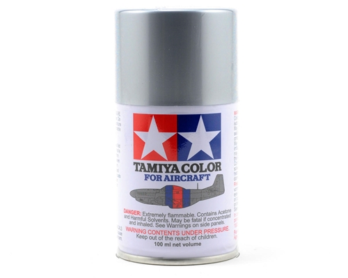 Tamiya Aircraft Spray AS-12 Bare Metal Silver