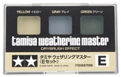 Tamiya Weathering Master E Set Yellow/Gray/Green
