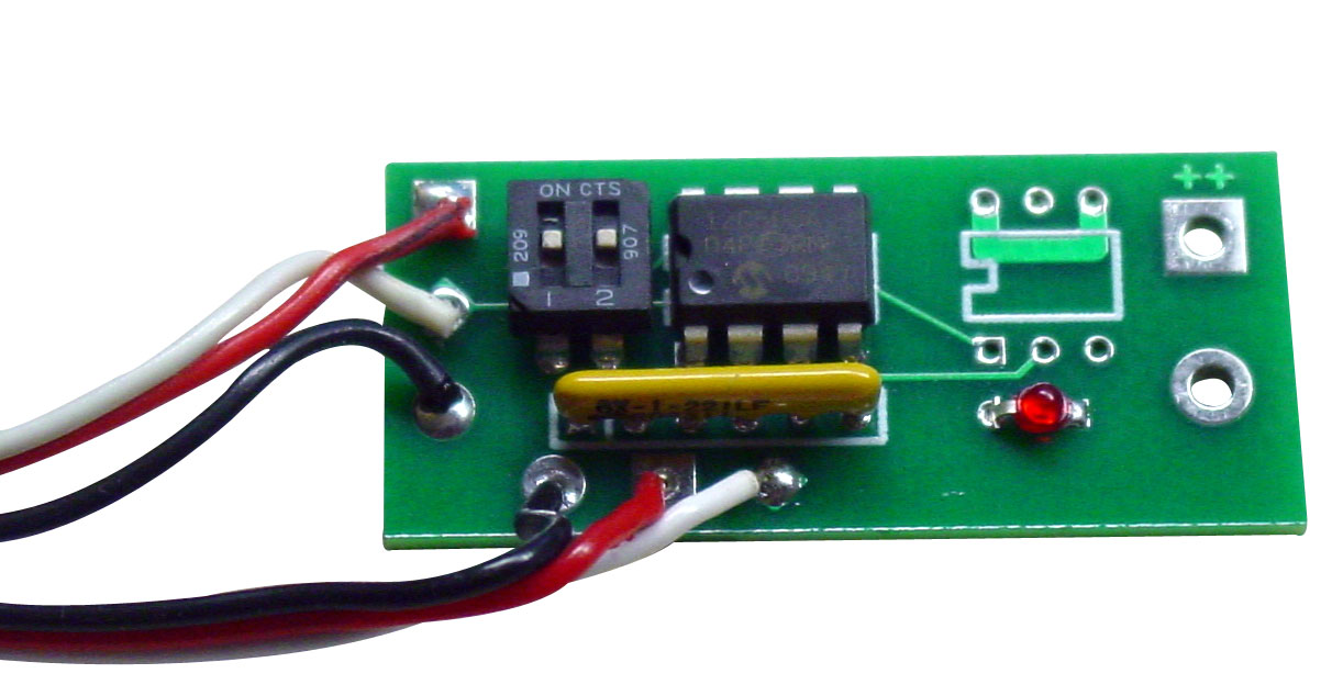 RCE550A Servo Slower