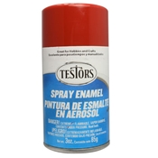 Testors 1204 Gloss Dark Red Spray Enamel 3oz
