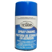 Testors 1210 Gloss Bright Blue Spray Enamel 3oz